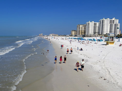 Clearwater Beach, Gulf Coast of Florida